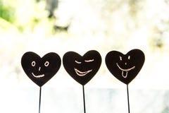 Καρδιά Smiley Στοκ Φωτογραφίες
