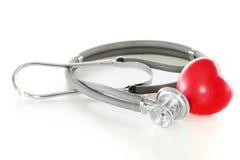 καρδιά sthetoscope Στοκ Φωτογραφία