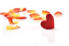 Καρδιά Valentin Στοκ φωτογραφίες με δικαίωμα ελεύθερης χρήσης