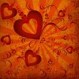 καρδιές ανασκόπησης Στοκ Φωτογραφίες
