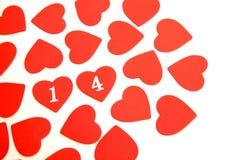Καρδιές βαλεντίνων στοκ εικόνα