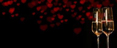 Καρδιές για την ημέρα βαλεντίνων Στοκ Φωτογραφία