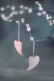 Καρδιές ημέρας βαλεντίνου Στοκ εικόνα με δικαίωμα ελεύθερης χρήσης