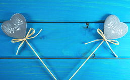 Καρδιές και αγάπη Στοκ Φωτογραφίες