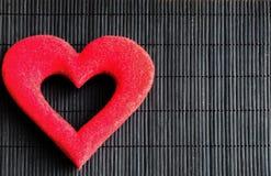 Καρδιές και λουλούδια για την ημέρα του βαλεντίνου Στοκ Εικόνες