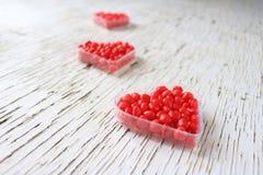 Καρδιές κανέλας Στοκ φωτογραφία με δικαίωμα ελεύθερης χρήσης