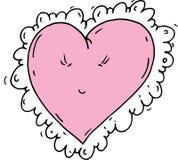 Καρδιές κινούμενων σχεδίων Στοκ Εικόνες