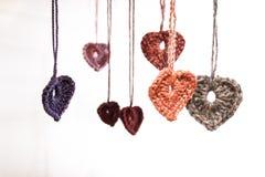 Καρδιές μαλλιού Στοκ Φωτογραφίες
