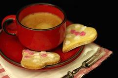 Καρδιές μπισκότων Στοκ εικόνες με δικαίωμα ελεύθερης χρήσης