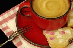 Καρδιές μπισκότων Στοκ εικόνα με δικαίωμα ελεύθερης χρήσης