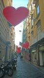 Καρδιές Νάπολη Στοκ εικόνες με δικαίωμα ελεύθερης χρήσης