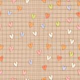 Καρδιές πολύχρωμες Στοκ εικόνα με δικαίωμα ελεύθερης χρήσης