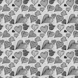 Καρδιές πρότυπο άνευ ραφής Στοκ Φωτογραφίες
