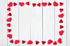 καρδιές πλαισίων Στοκ Εικόνα