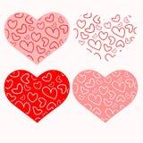 Καρδιές στην καρδιά Στοκ Εικόνα