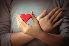 Καρδιές υπό εξέταση Στοκ εικόνα με δικαίωμα ελεύθερης χρήσης
