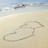 καρδιές δύο Στοκ Φωτογραφίες