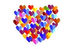 Καρδιές Στοκ Εικόνες
