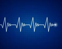 Καρδιακή συχνότητα Στοκ Εικόνες