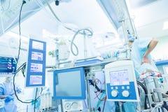Καρδιακή χειρουργική επέμβαση με την καρδιοπνευμονική παράκαμψη Στοκ Φωτογραφίες