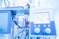 Καρδιακή χειρουργική επέμβαση με την καρδιοπνευμονική παράκαμψη Στοκ Φωτογραφία