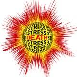 Καρδιακός θάνατος μέσω της πίεσης ελεύθερη απεικόνιση δικαιώματος