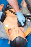 Καρδιοπνευμονική νεκρανάσταση 1 Στοκ εικόνα με δικαίωμα ελεύθερης χρήσης
