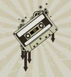 κασέτα ήχου Στοκ φωτογραφία με δικαίωμα ελεύθερης χρήσης