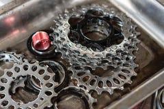 Κασέτα εργαλείων ποδηλάτων Στοκ Εικόνες