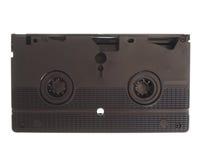 Κασέτα VHS που απομονώνεται στοκ φωτογραφία με δικαίωμα ελεύθερης χρήσης