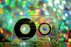 Κασέτες ήχου για το όργανο καταγραφής ταινιών Στοκ Φωτογραφίες