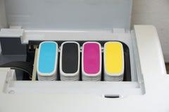 Κασέτες μελανιού εκτυπωτών Στοκ εικόνα με δικαίωμα ελεύθερης χρήσης