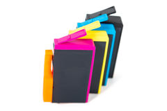 Κασέτες χρώματος Στοκ Εικόνα