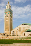 Κασαμπλάνκα Hassan ΙΙ μουσουλμανικό τέμενος βασιλιάδων Στοκ Εικόνες