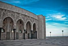 Κασαμπλάνκα Hassan ΙΙ μουσουλμανικό τέμενος του Μαρόκου Στοκ Εικόνες