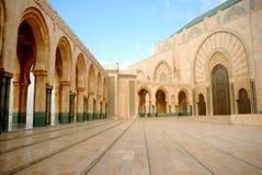 Κασαμπλάνκα Hassan ΙΙ μουσουλμανικό τέμενος του Μαρόκου Στοκ Εικόνα