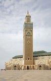 Κασαμπλάνκα Hassan ΙΙ μουσουλμανικό τέμενος Μαρόκο Στοκ Εικόνες
