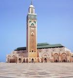 Κασαμπλάνκα Hassan ΙΙ μουσουλμανικό τέμενος Στοκ Φωτογραφία