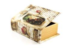 Κασετίνα βιβλίων Оld Στοκ φωτογραφίες με δικαίωμα ελεύθερης χρήσης