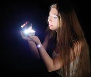 κασετίνα μαγική Στοκ φωτογραφία με δικαίωμα ελεύθερης χρήσης