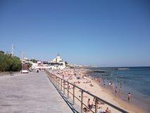 Κασκάις σε ένα ηλιόλουστο απόγευμα (Πορτογαλία) Στοκ Φωτογραφία