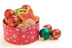 κασσίτερος μπισκότων στοκ εικόνες με δικαίωμα ελεύθερης χρήσης