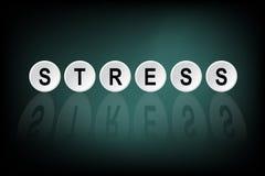 Κατάθλιψη λέξεων που γράφεται πλήκτρο τα ΟΝ διανυσματική απεικόνιση