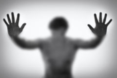 κατάθλιψη Στοκ φωτογραφία με δικαίωμα ελεύθερης χρήσης