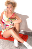κατάλληλη αγάπη κοριτσιών Στοκ εικόνα με δικαίωμα ελεύθερης χρήσης