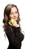 Κατάλληλη ομορφιά μήλων. Στοκ εικόνα με δικαίωμα ελεύθερης χρήσης