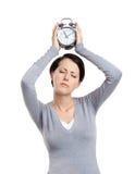 Κατάλληλος χρόνος στον ύπνο Στοκ Εικόνες