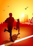 κατάλληλο τρέξιμο ζωής Στοκ φωτογραφία με δικαίωμα ελεύθερης χρήσης