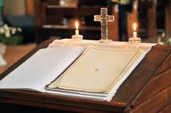 κατάλογος γάμου βαπτίσματος Στοκ Εικόνες