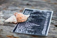 Κατάλογος επιλογής στη ράβδο Στοκ φωτογραφία με δικαίωμα ελεύθερης χρήσης